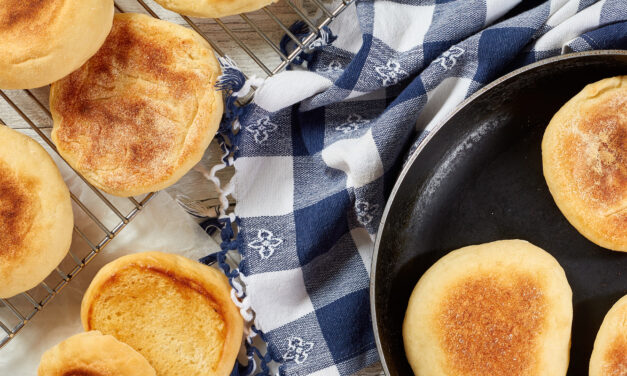 How to Make Sourdough English Muffins with Emily Buehler