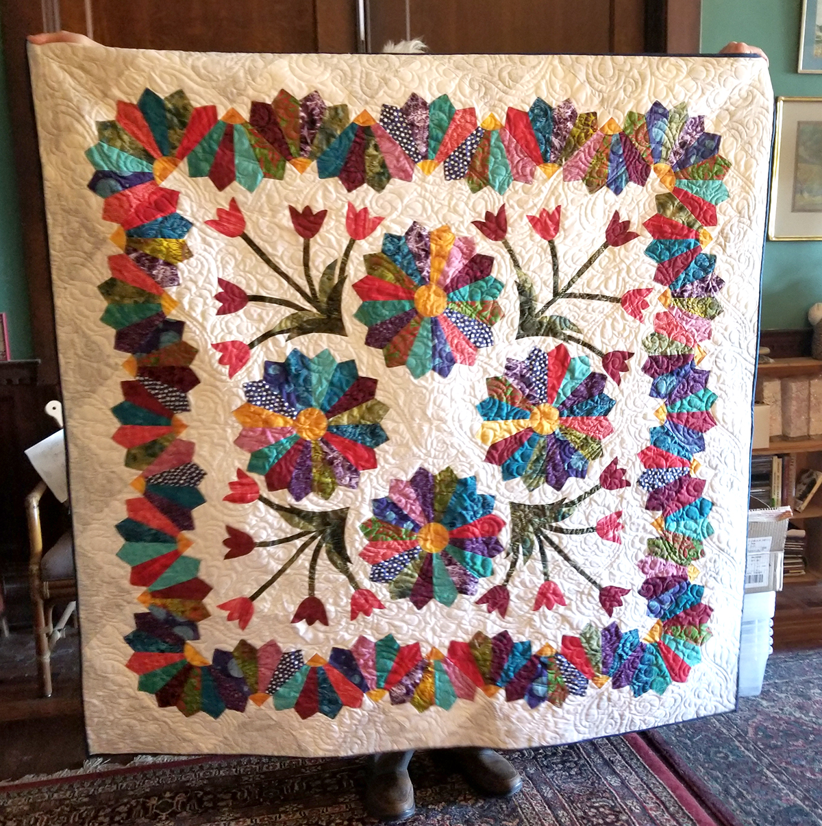 Quilters Garden Quilt By Penny Prichard John C Campbell Folk