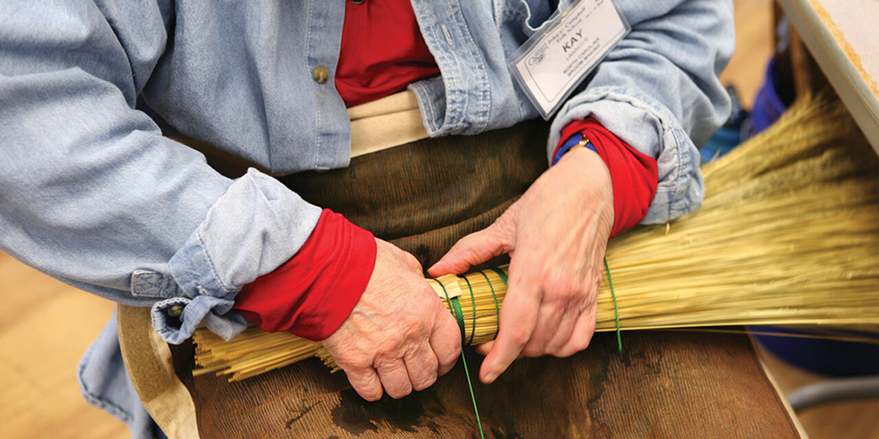 Appalachian Broom Making with Marlow Gates