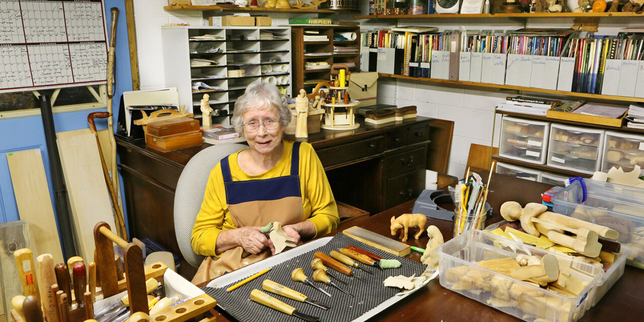 Appalachian Traditions with Brasstown Carver Helen Gibson