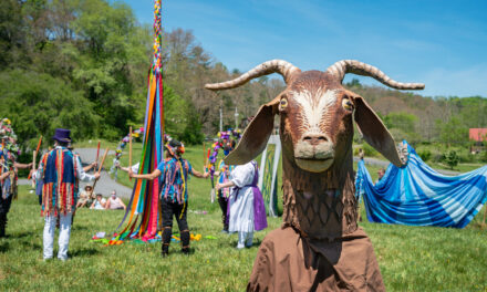Celebrating May Day with Puppets, a Parade, and the Maypole Dance