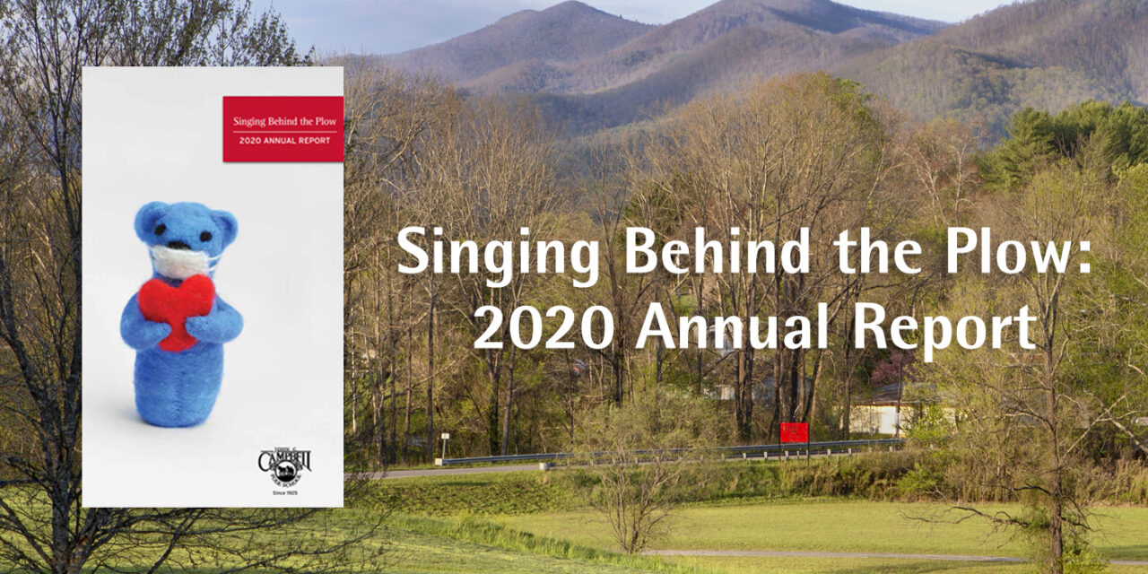 Keep the Folk School Healthy: Read Our New 2020 Annual Report and Donate Today