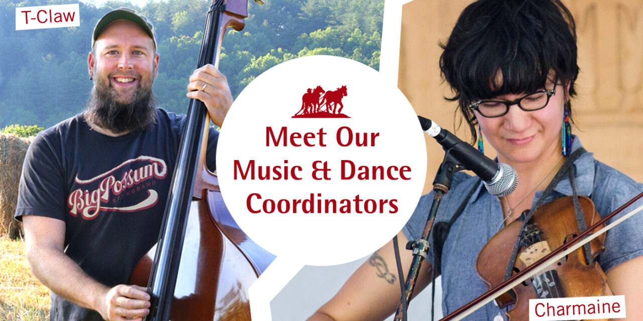 Announcing Our New Music & Dance Coordinators: T-Claw Crawford & Charmaine Slaven!